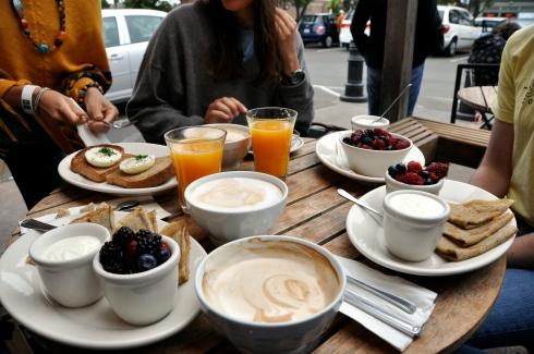 Cafe Fanny Breakfast