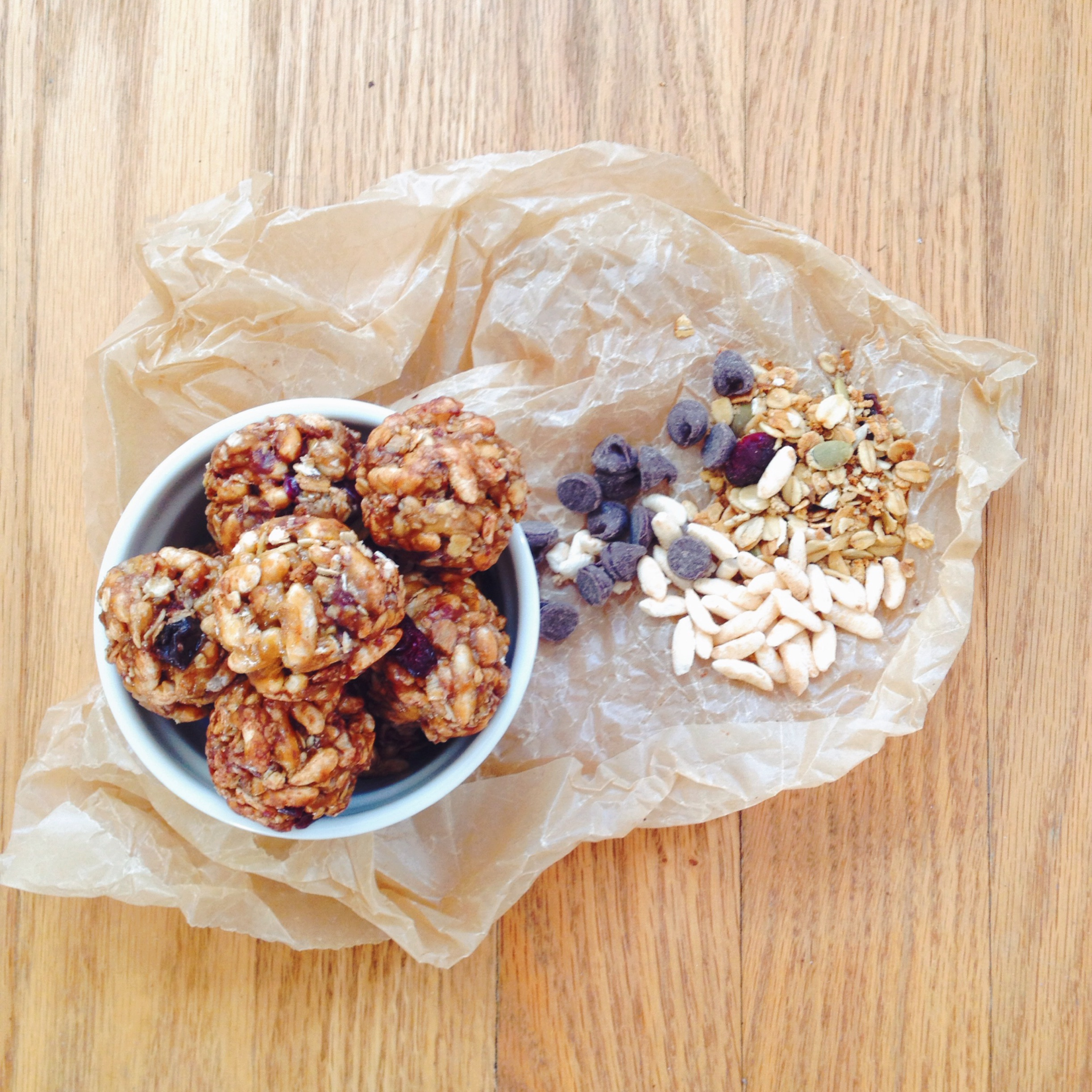 Chewy Granola Balls Recipes — Dishmaps