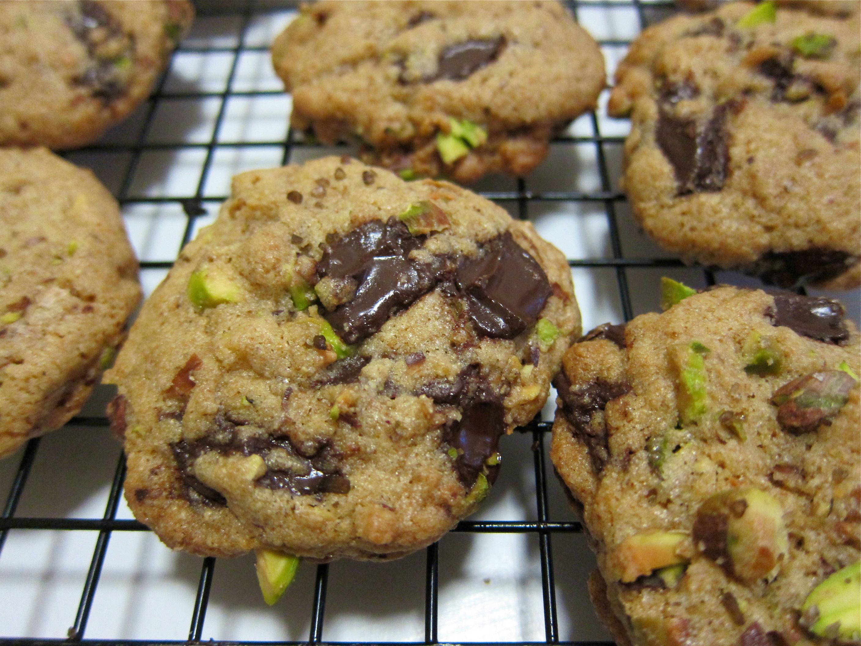 Dark Chocolate, Pistachio and SMOKED SEA SALT Cookies ...