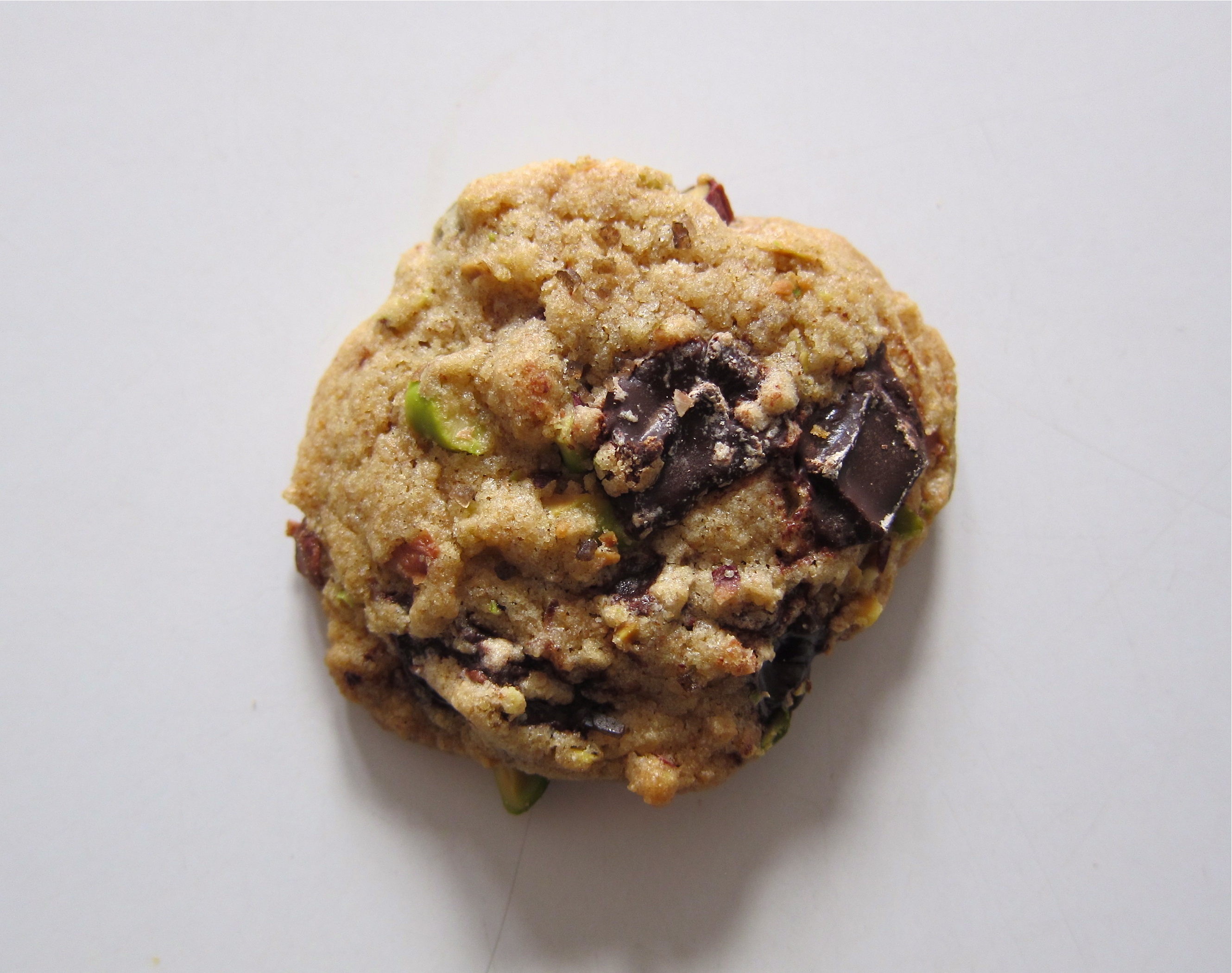 Dark Chocolate, Pistachio & Smoked Sea Salt Cookies Recipe ...
