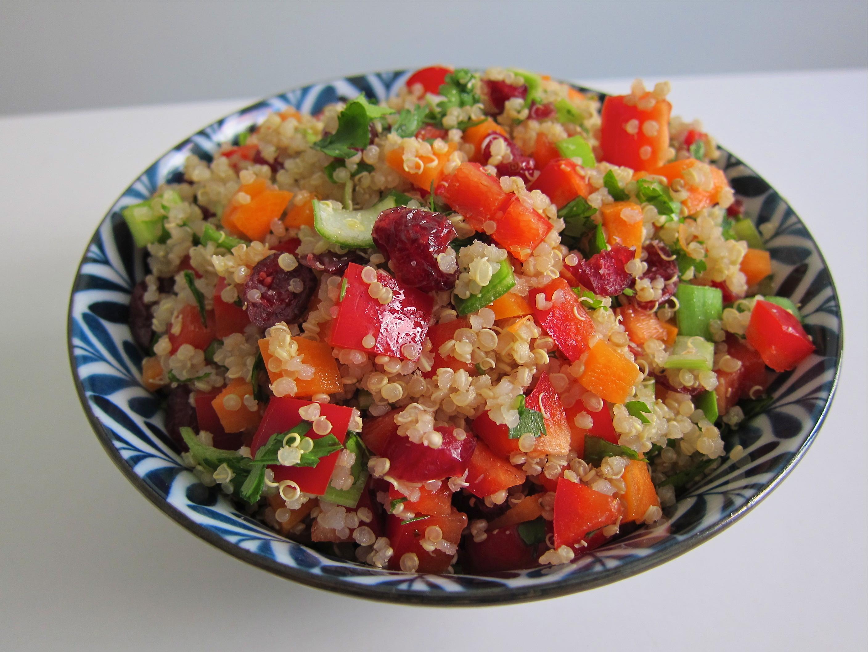 Quinoa Salad with Avocado  Chelseas Messy Apron